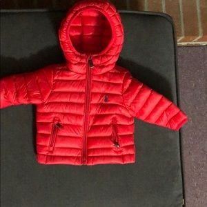 Ralph Lauren baby polo puff coat
